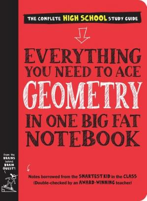 Book cover Everything You Need to Ace Geometry in One Big Fat Notebook