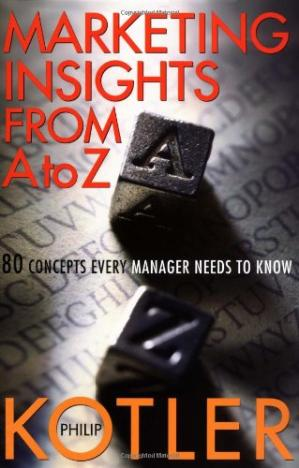 Okładka książki Marketing Insights from A to Z: 80 Concerns Every Manager Needs to Know