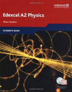 Book cover Edexcel A Level Science: A2 Physics Students' Book with ActiveBook CD