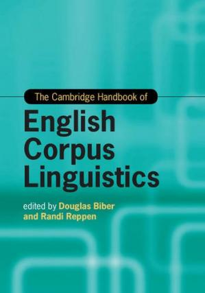 غلاف الكتاب The Cambridge Handbook of English Corpus Linguistics