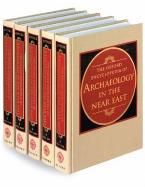 Buchdeckel The Oxford Encyclopedia of Archaeology in the Near East - Five Volume SET