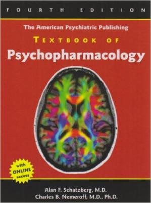 Book cover The American Psychiatric Publishing Textbook of Psychopharmacology