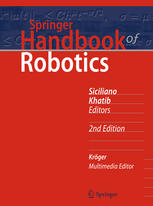 Sampul buku Springer Handbook of Robotics