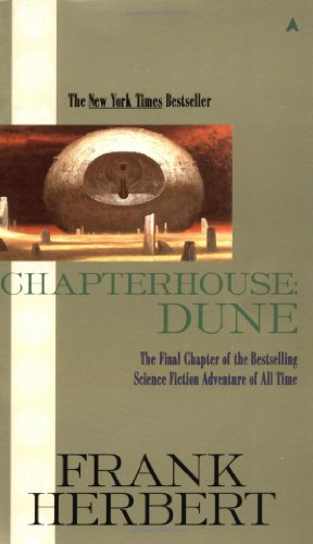Book cover Chapterhouse Dune