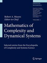 Couverture du livre Mathematics of Complexity and Dynamical Systems
