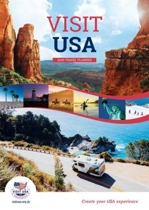 Book cover Visit USA Travel planner