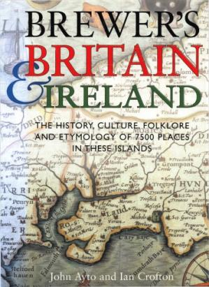 Kitabın üzlüyü Brewer's Britain & Ireland