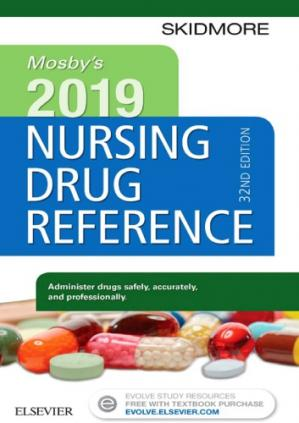 Book cover Mosby's 2019 Nursing Drug Reference E-Book