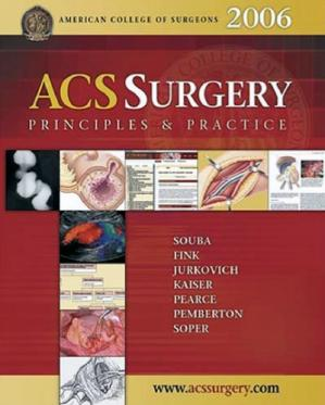 Book cover ACS Surgery - Principles and Practice
