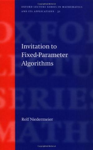 Book cover Invitation to fixed-parameter algorithms