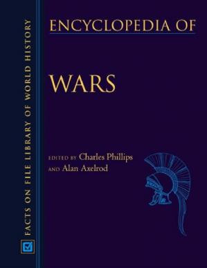 Book cover Encyclopedia of Wars3 Volume of Set