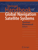 A capa do livro Springer Handbook of Global Navigation Satellite Systems