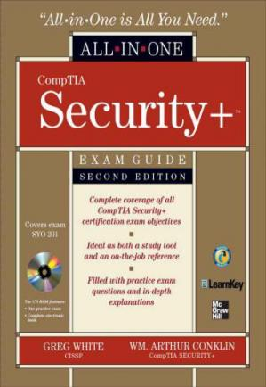 Book cover CompTIA Security All-In-One Exam Guide, Second Edition