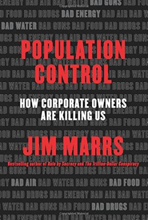 Book cover Population Control: How Corporate Owners Are Killing Us