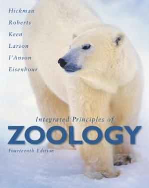 Book cover Integrated Principles of Zoology , Fourteenth Edition