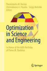 Couverture du livre Optimization in Science and Engineering: In Honor of the 60th Birthday of Panos M. Pardalos