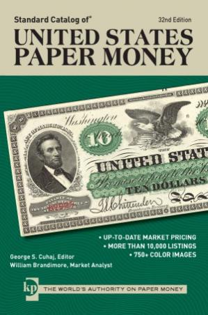 Book cover «Standard Catalog of United States Paper Money»