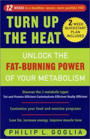 A capa do livro Turn Up the Heat: Unlock the Fat-Burning Power of Your Metabolism