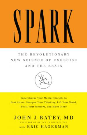 Book cover Spark: The Revolutionary New Science of Exercise and the Brain