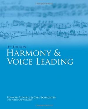 表紙 Harmony & Voice Leading (4th edition)