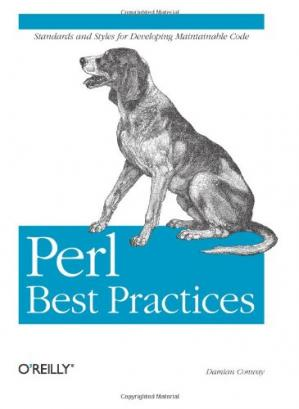 A capa do livro Perl Best Practices