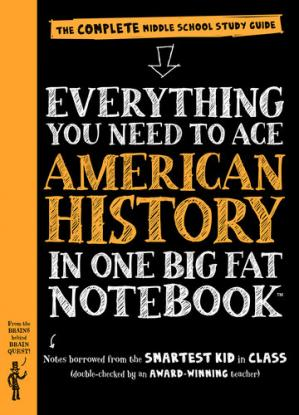 Book cover Everything You Need to Ace American History in One Big Fat Notebook