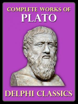 Sampul buku Delphi Complete Works of Plato (Illustrated) (Delphi Ancient Classics Book 5)