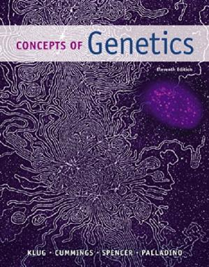 Portada del libro Concepts of Genetics