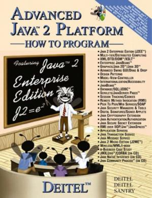 Portada del libro Advanced Java 2 platform: how to program