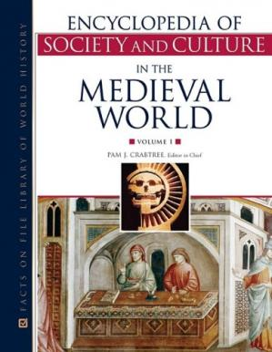 Sampul buku Encyclopedia of Society and Culture in the Medieval World (4 Volume set) ( Facts on File Library of World History )