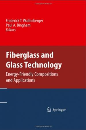 A capa do livro Fiberglass and Glass Technology: Energy-Friendly Compositions and Applications