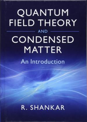 Book cover Quantum Field Theory and Condensed Matter: An Introduction