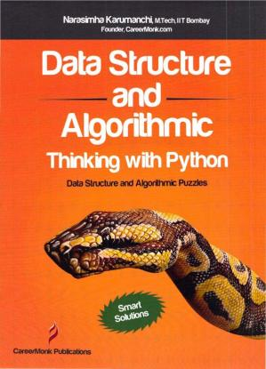 Book cover Data Structure and Algorithmic Thinking with Python  Data Structure and Algorithmic Puzzles