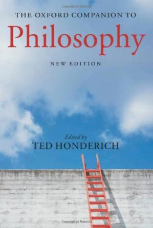 Copertina The Oxford Companion to Philosophy