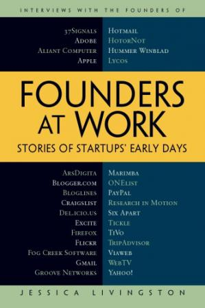 Book cover Founders at Work: Stories of Startups' Early Days