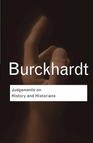 Book cover Judgements on History and Historians