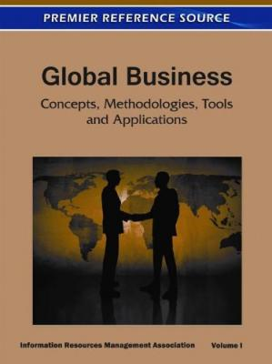 Обкладинка книги Global Business: Concepts, Methodologies, Tools and Applications