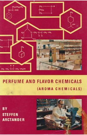 Book cover Perfume and Flavor Chemicals Volume 1 and 2