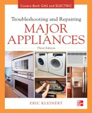 Copertina Troubleshooting and Repairing Major Appliances, 3 edition