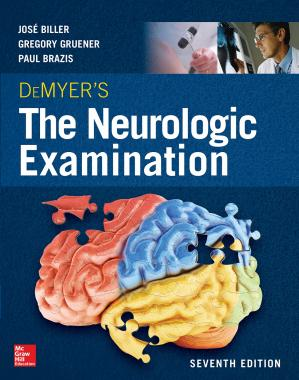 غلاف الكتاب DeMyer's The Neurologic Examination: A Programmed Text