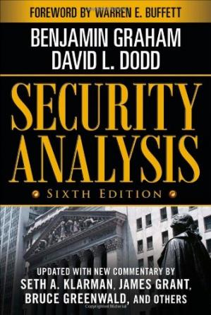 Book cover Security Analysis