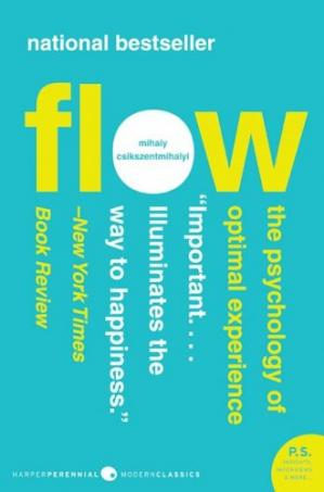 Book cover Flow: The Psychology of Optimal Experience