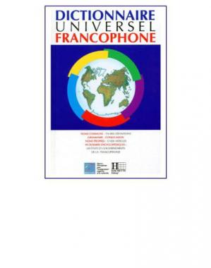 Book cover Dictionnaire Universel Francophone