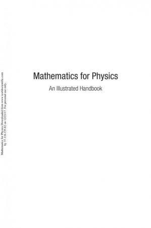 A capa do livro Mathematics for Physics: An Illustrated Handbook