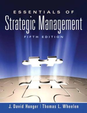 Book cover Essentials of Strategic Management, 5th Edition
