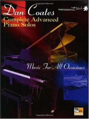 Book cover Complete advanced piano solos: music for all occasions