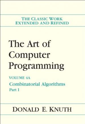 Book cover The Art of Computer Programming, Volume 4A: Combinatorial Algorithms, Part 1