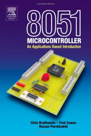 Book cover 8051 Microcontroller: An Applications Based Introduction