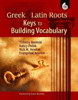 Book cover Greek & Latin Roots: Keys to Building Vocabulary