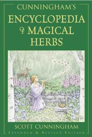 Book cover Cunningham's Encyclopedia of Magical Herbs
